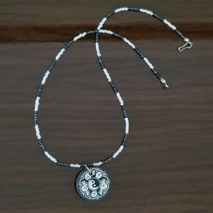 Jewelry - Yin and Yang beaded necklace